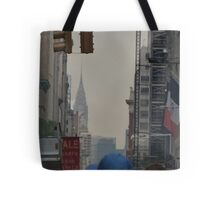 NYC Chrysler Building Sneak Peek Tote Bag