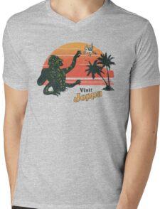 Coast Of The Titans Mens V-Neck T-Shirt