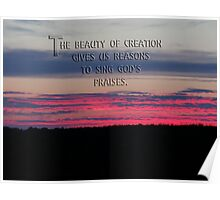 God's creation Poster