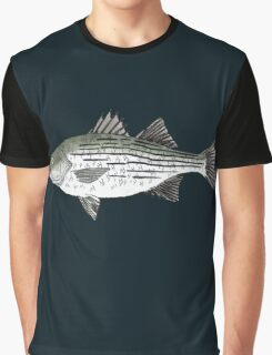 White Bass Graphic T-Shirt