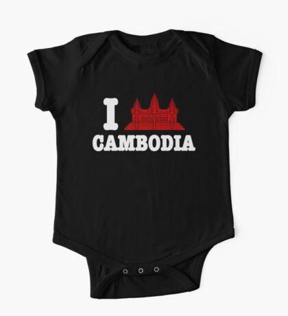 I Angkor (Love) Cambodia One Piece - Short Sleeve