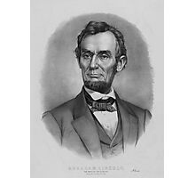 President Abraham Lincoln Photographic Print