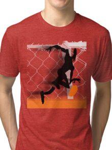 tribe bball nyc Tri-blend T-Shirt