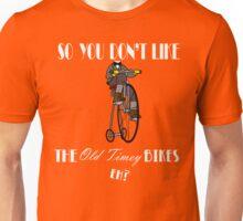 Old Timey Bikes Unisex T-Shirt