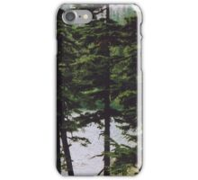 Forest Print iPhone Case/Skin
