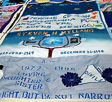 AIDS Quilt - 2 by Cora Wandel