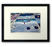 AIDS Quilt - 2 Framed Print