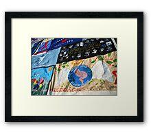 AIDS Quilt - 3 Framed Print