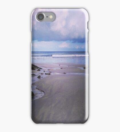 A beach in Normandy  iPhone Case/Skin