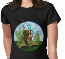 Thoughtful Fairy Womens Fitted T-Shirt