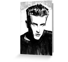Jimmy Dean: Black & White Greeting Card