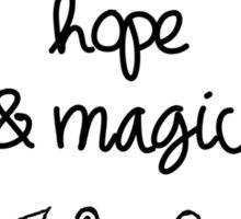 hope & magic Sticker