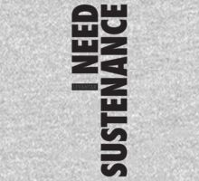 I Need Sustenance (Black) by Levantar