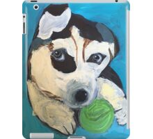 Playful pup by Grace Sievers iPad Case/Skin
