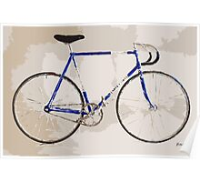 The Gios Track Bike Poster