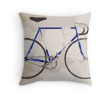 The Gios Track Bike Throw Pillow