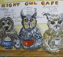 Fowl Play Series:  Night Owl Cafe by Jeanne Vail