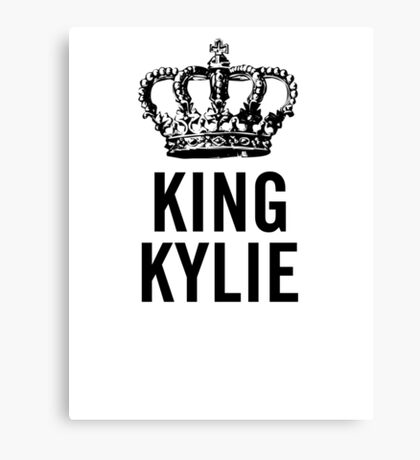 King Kylie Canvas Print