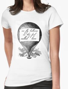 Balloons - Foals Womens Fitted T-Shirt