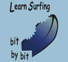 Learn Surfing One Piece - Short Sleeve