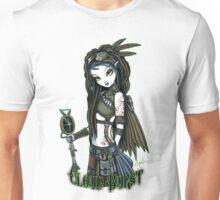 Cloud Burst Steampunk Aviatrix Fairy Unisex T-Shirt