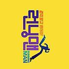 Run, don't walk! ??? Running Man iPhone Case~ [Korean Variety Show] by ruepaw