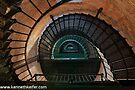 Inside Currituck Beach Lighthouse by Kenneth Keifer