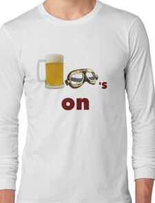 beer goggles on Long Sleeve T-Shirt