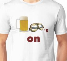 beer goggles on Unisex T-Shirt