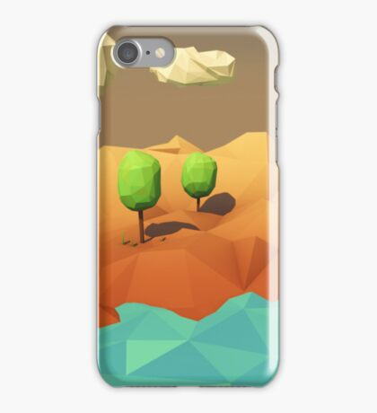 Low Poly Landscape iPhone Case/Skin