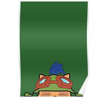 Portraits of the League - Teemo Poster