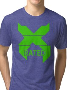 X-Rated Tri-blend T-Shirt