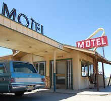 Desert Motel by karinast123
