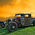 Rat Rod  'Rodent at Sunrise' by DaveKoontz