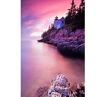 Acadia Sunset Photographic Print