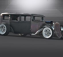 Rat Rod 'Rat-ical Ride' by DaveKoontz