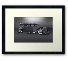 Rat Rod 'Rat-ical Ride' Framed Print