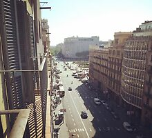 Barcelona Street by AmorphousArt