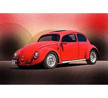 1966 Volkswagon 'California Style' Photographic Print