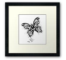 Killer fly Framed Print