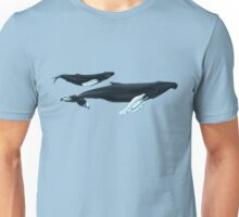 Humpback Whales - Nile and Teacup Unisex T-Shirt