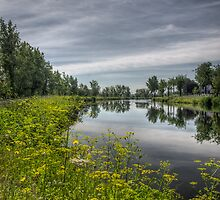 The canal by Richard Fortier