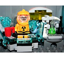 Lego Breaking Bad Laboratory Photographic Print
