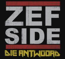 Die Antwoord Zef Side by Big Mack