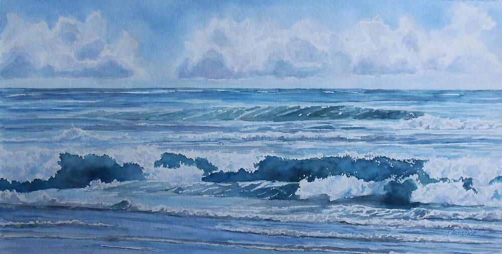 Pacific Rhythms  by JennyArmitage