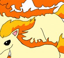 Rapidash & Ponyta Sticker