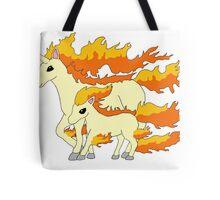 Rapidash & Ponyta Tote Bag