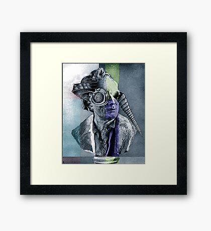 Sculpture Study. Framed Print