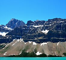Bow Lake Ice Fields Parkway by Luann wilslef
