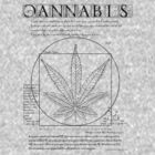 Vitruvian Cannabis by GUS3141592